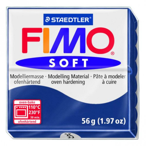 FIMO SOFT 56G - 035 BLU WINDSOR