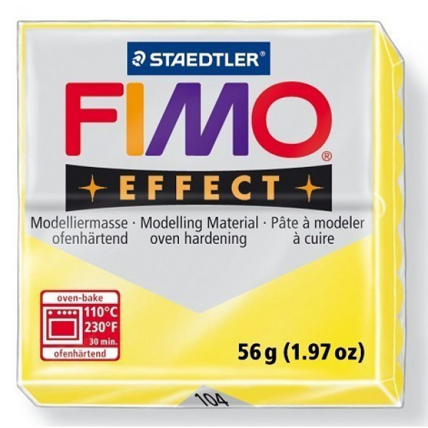 FIMO EFFECT 56G - 104 GIALLO