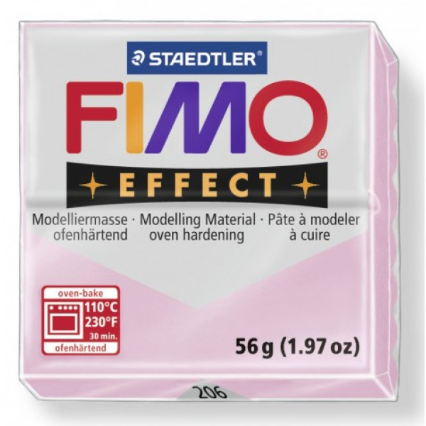 FIMO EFFECT 56G - 206 QUARZO ROSA