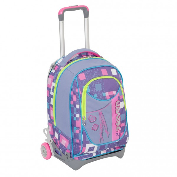 Zaino Trolley New Jack Seven - Bundle Girl 2017-2018