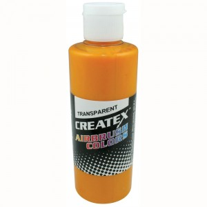 Colore Aerografo Createx Trasparent 5113 Sunrise Yellow, 60 ml