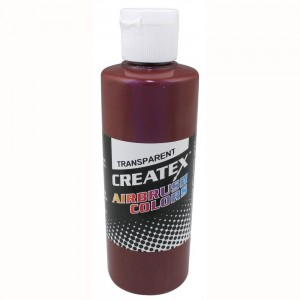 Colore Aerografo Createx Trasparent 5127 Light Brown, 60 ml