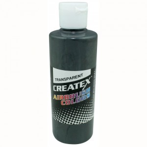 Colore Aerografo Createx Trasparent 5129 Medium Gray, 60 ml
