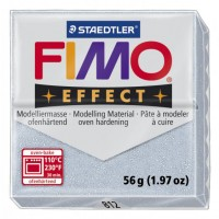 FIMO EFFECT 56G - 812 ARGENTO GLITTER